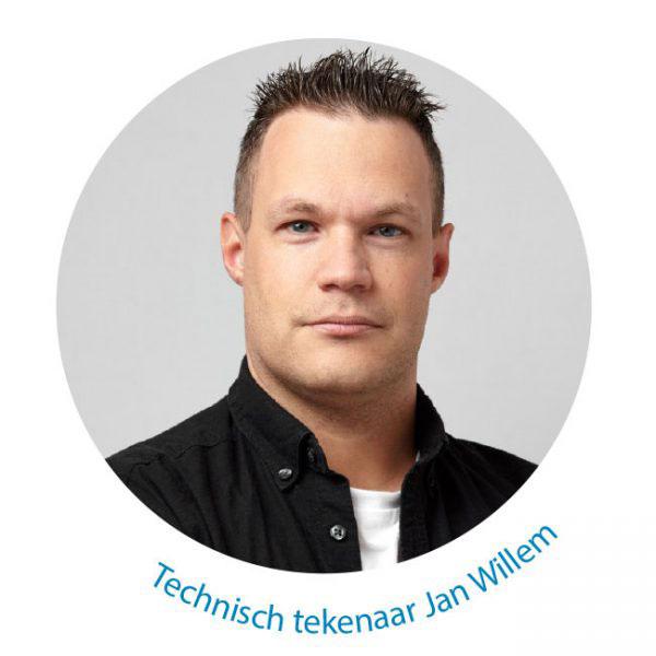 Jan Willem Technische tekening