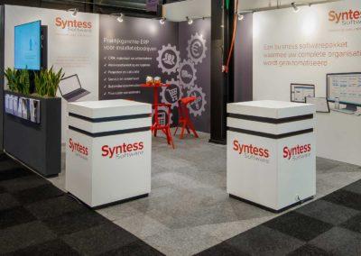 Syntess display blokken