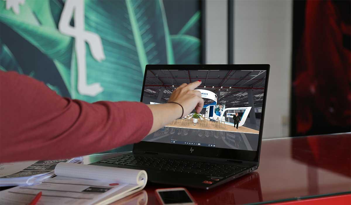 Met een Virtuele Showroom ontdekken klanten uw producten op afstand!